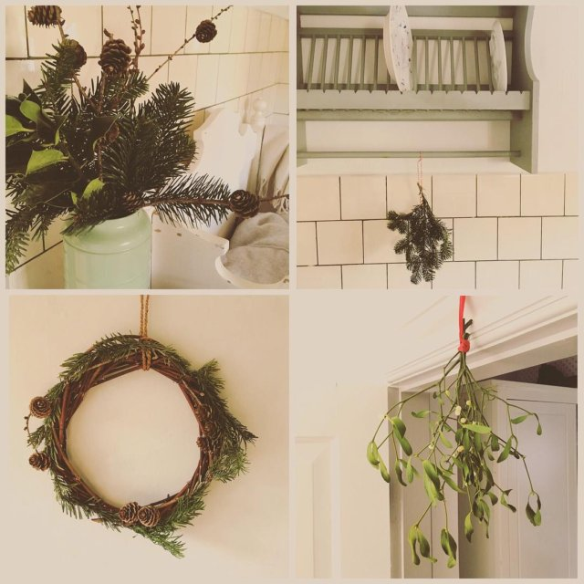 Naturen gr aldrig af mode Den bedste julepynt hvis duhellip